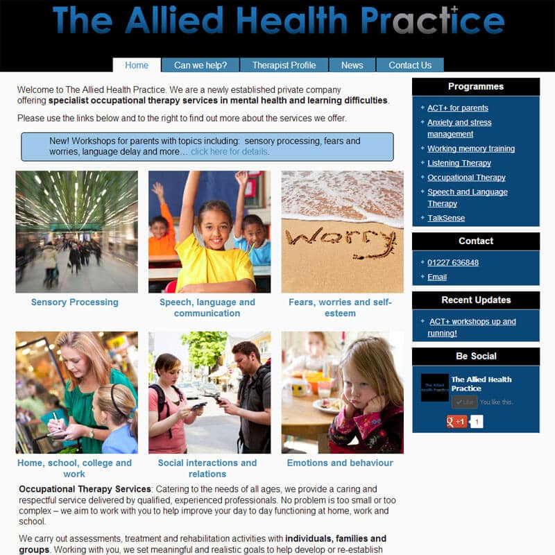 The Allied Health Practice