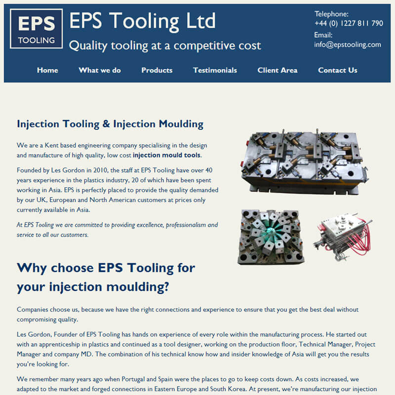 EPS Tooling