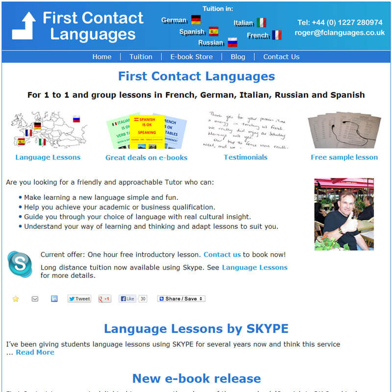First Contact Languages