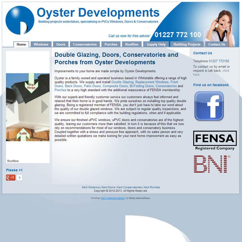 Oyster Developments