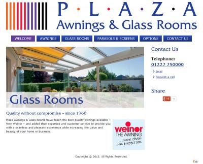 Plaza Awnings & Glassrooms