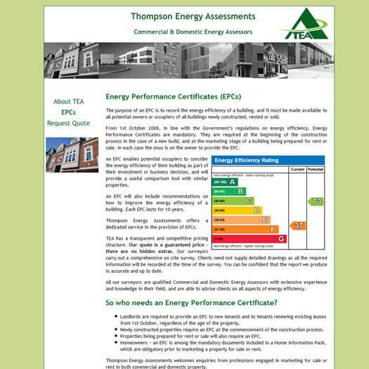 Thompson Energy Assessments