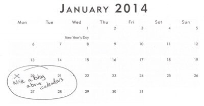 Free gifts for bloggers - remember that calendar? 2
