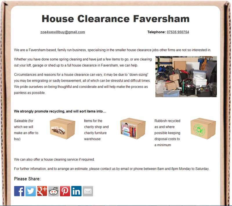 House Clearance Faversham