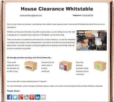 House Clearance Whitstable