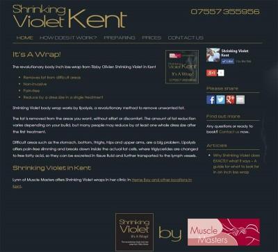 Shrinking Violet Kent