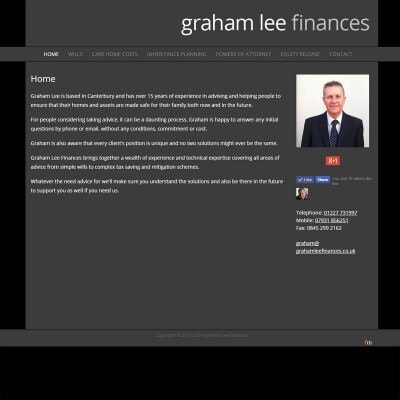Graham Lee Finances