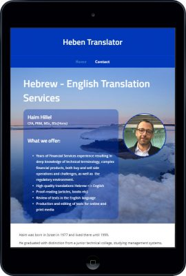 hebentranslator-tablet