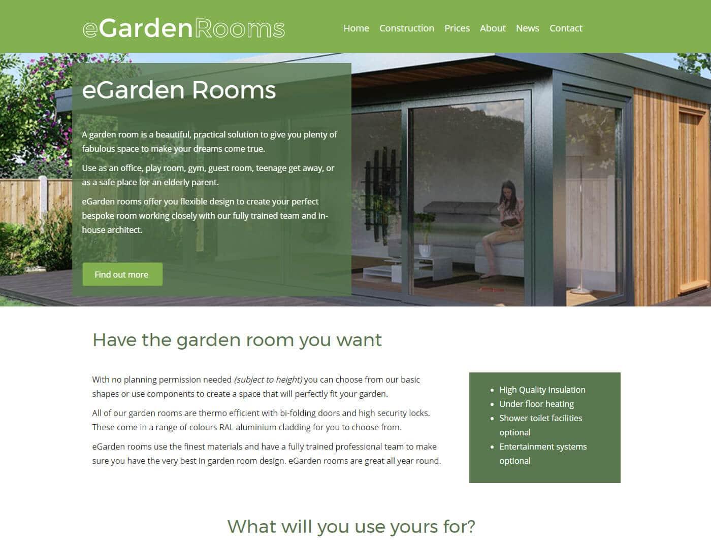eGarden Rooms
