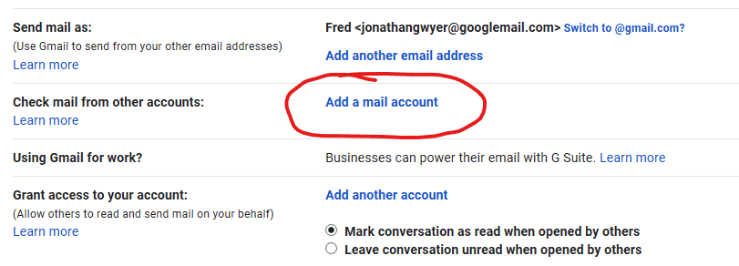 Using Gmail to Access Other Accounts 3