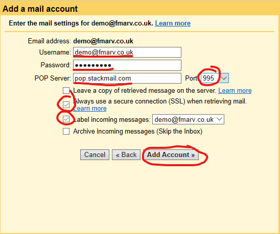 Using Gmail to Access Other Accounts 4