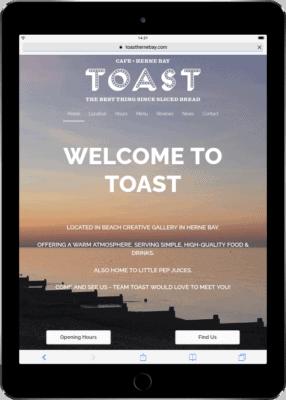 Toast Tablet