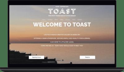 Toast laptop
