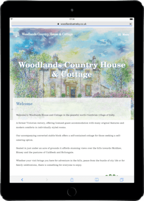 Woodlands tablet