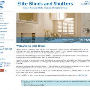 Elite Blinds & Shutters