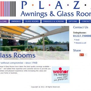 Plaza Awnings & Glassrooms